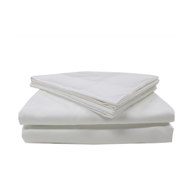 Nanotex 400tc Sateen Wrinkle Resistant Temperature Regulating Sheet Set
