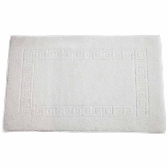 Linum Home Textiles Greek Key 20x32 Tubmat Bath Mat