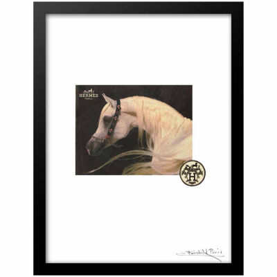 "Fairchild Paris Hermes ""San Jacinto"" Framed Wall Art"