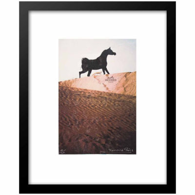 Fairchild Paris Hermes Horse (540) Framed Wall Art