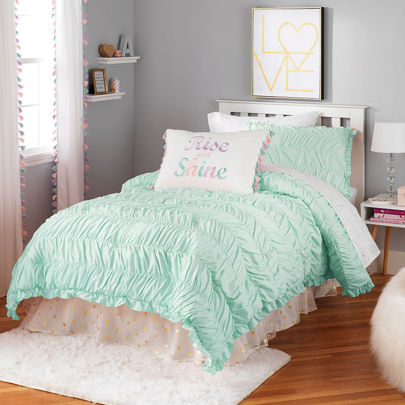 Bed Sheets Twin Gray Silk Pink