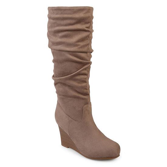 Journee Collection Womens Haze Dress Boots Wedge Heel