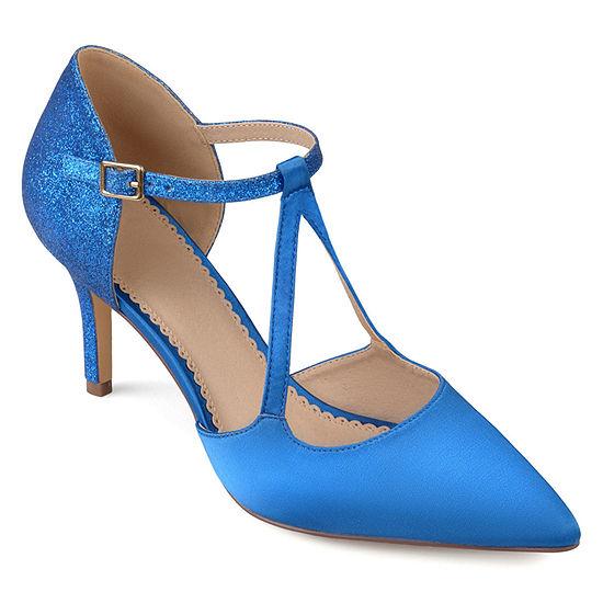 Journee Collection Womens Elodie Pumps Stiletto Heel