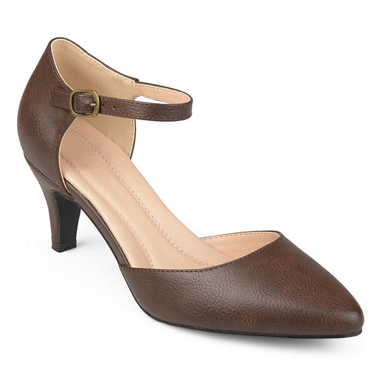 Journee Collection Womens Bettie Pumps Pointed Toe Stiletto Heel
