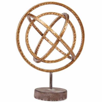 Danya B. Golden Globe Metal Sculpture