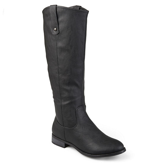 Journee Collection Womens Taven Wide Calf Riding Boot