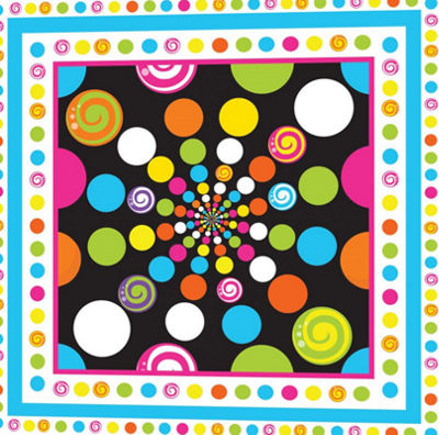 Metaverse Art Candy Craze X Gallery Wrapped Canvas Wall Art