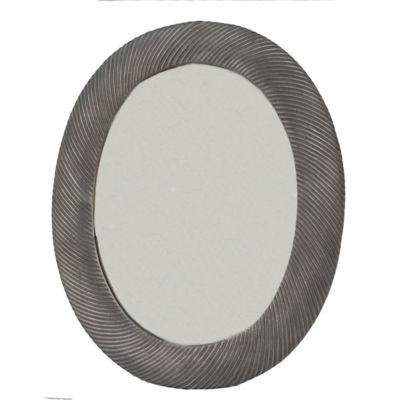 Cadmus Oval Textured Frame Mirror