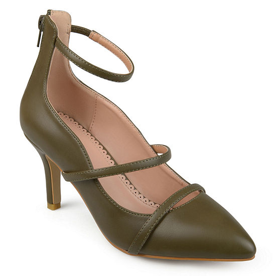 Journee Collection Womens Cece Pumps Pointed Toe Stiletto Heel