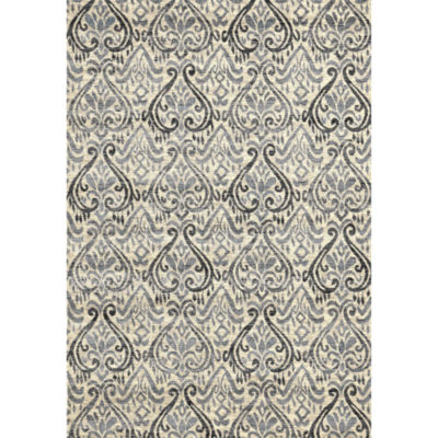 Concord Global Trading Lumina Collection Tulips Area Rug