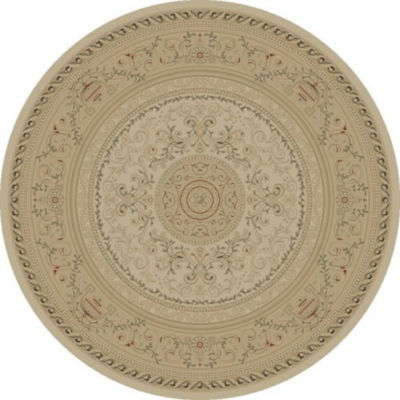 Concord Global Trading Imperial Collection Savonnerie Round Area Rug