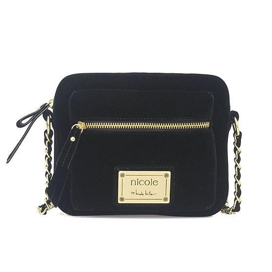 Nicole By Nicole Miller Laurel Square Crossbody Bag