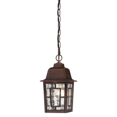 Filament Design 1-Light White Outdoor Hanging Lantern