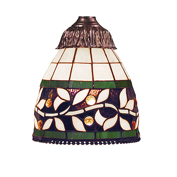 Mix-N-Match 1 Light English Ivy Tiffany Glass Shade