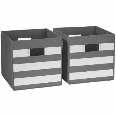 RiverRidge Kids 2-pc. Folding Storage Bin Set