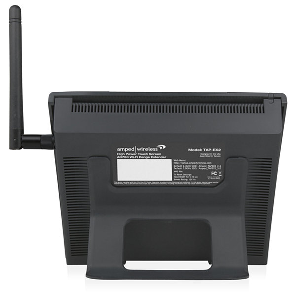 Amped Wireless TAP-EX2 High Power Touch Screen AC750 Wi-Fi Range Extender
