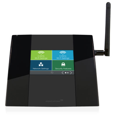 Amped Wireless TAP-R2 High Power Touch Screen AC750 Wi-Fi Router