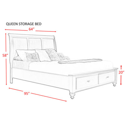 Picket House Furnishings Channing Storage 3-pc. Bedroom Set