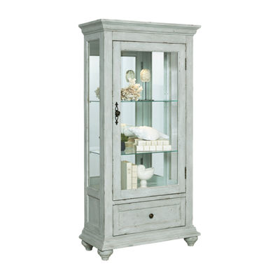 Addison Weathered Accent Curio Cabinet