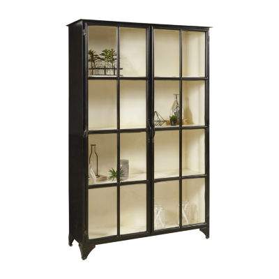 Maura Iron Display Cabinet