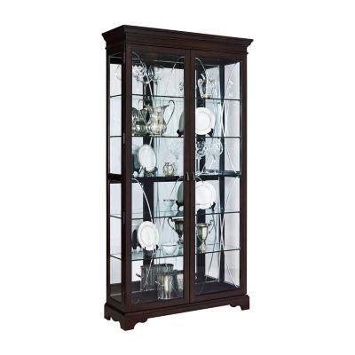 Sable Double Door Curio Cabinet