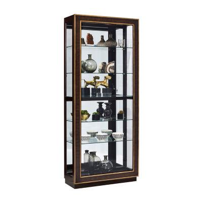 Finley Sliding Door Curio Cabinet