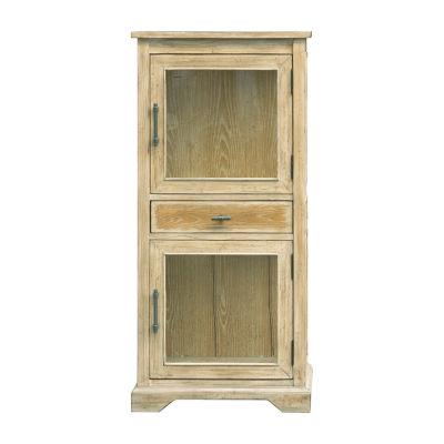 Penelope Glass Door Accent Cabinet