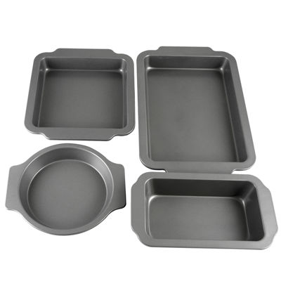 Oster Baking Shop 4-Piece Non-Stick Bakeware Set