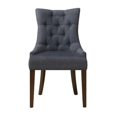 Darkwash Denim Side Chair