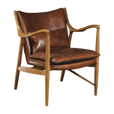 Anderson Wood Frame Arm Chair