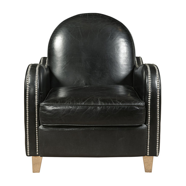 Essex Leather Accent Chair