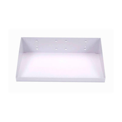 "12""Wx6""D  White LocHook Shelf"