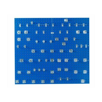 (2) 24x42-1/2 LocBoards/63 Hooks