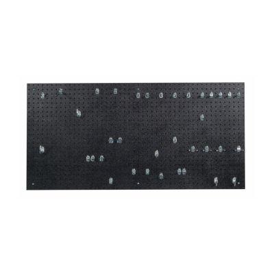 24x48x3/16 Black DuraBoard/36 Hooks
