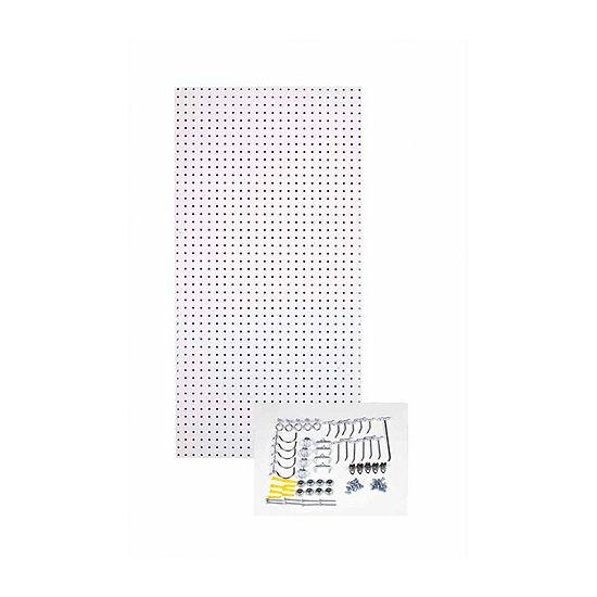 24x48x1/4 Black Tempered Board/36 Hooks