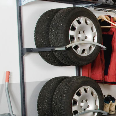 Adjustable Storage Rack/Tire Holder