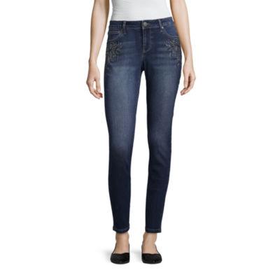 Project Indigo Embellished Jean Skinny Fit Jean