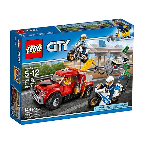 LEGO City Police Tow Truck Trouble 60137