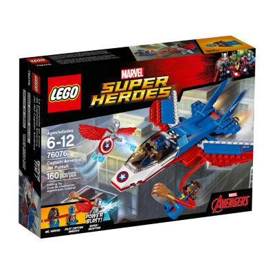 LEGO Marvel Super Heroes Captain America Jet Pursuit 76076