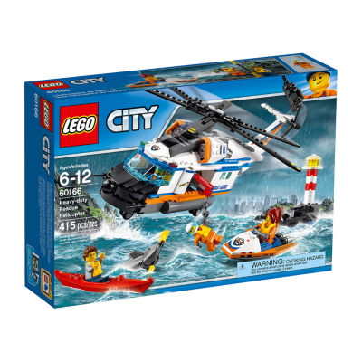 121926974LEGO City Heavy-duty Rescue Helicopter 60166