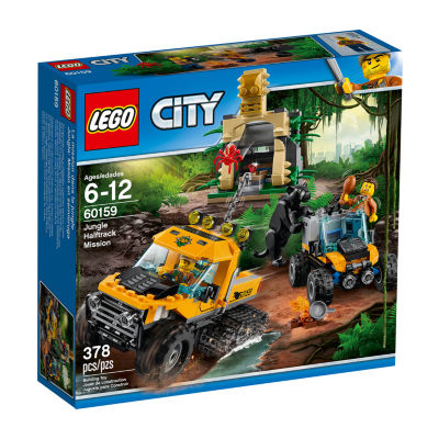 LEGO City Jungle Halftrack Mission 60159