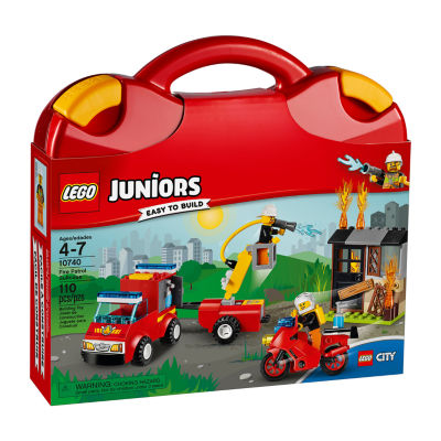 LEGO Juniors Fire Patrol Suitcase 10740