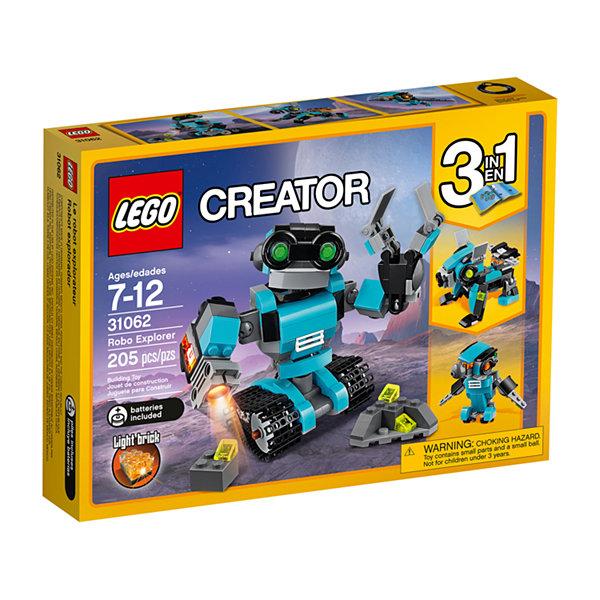 LEGO CREATOR Robo Explorer 31062 - JCPenney