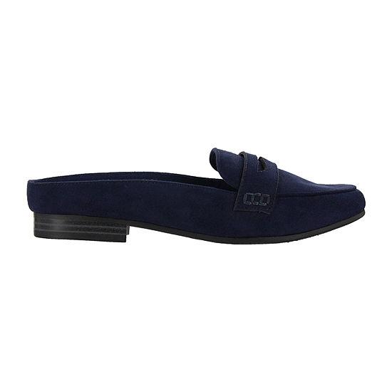 Mia Amore Womens Closed Toe Slip-On Shoe