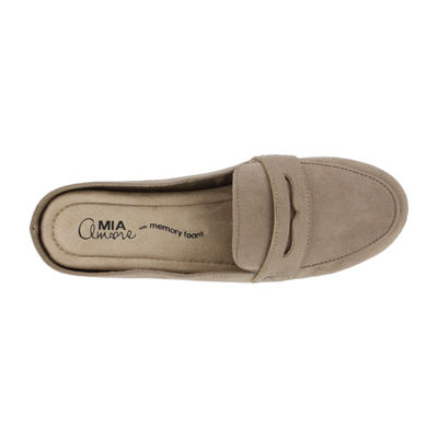 Mia Amore Womens Closed Toe Slip-On Shoe