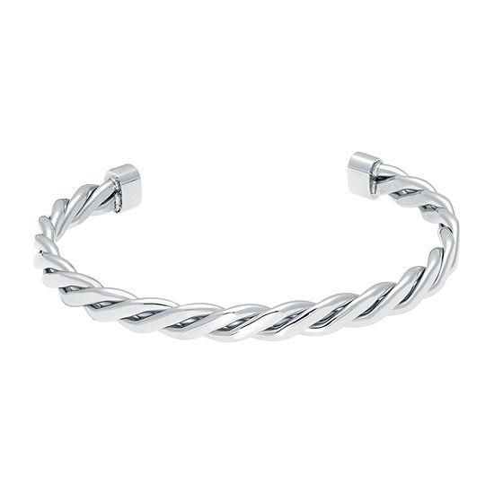 Mens Stainless Steel Cuff Bracelet