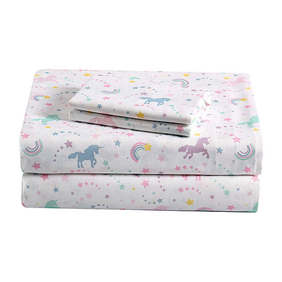 Frank And Lulu Unicorn Dreams Sheet Set