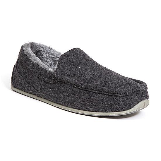 Deer Stags® Felt Spun Moccasin Slippers
