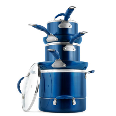 Cooks 12-pc. Aluminum Dishwasher Safe Cookware Set