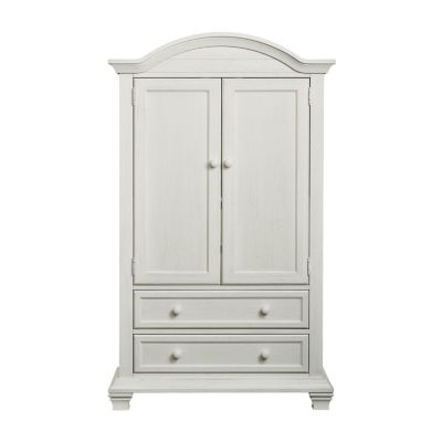 Oxford Baby Cottage Cove Armoire Nursery Dresser - Natural
